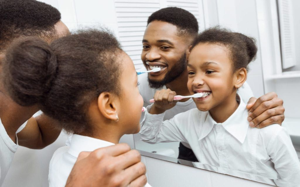 Family Forming Hygiene practices together