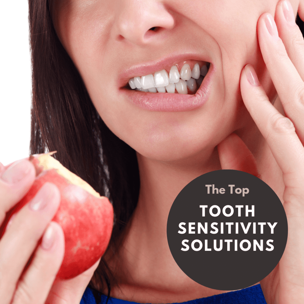 The Top tooth sensitivity solutions